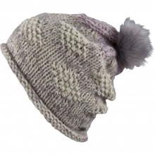 Foxie Beanie Hat Womens - Ivory by Pistil