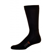Lifestyle Light Crew Sock - Black - Large in Ellicottville, NY