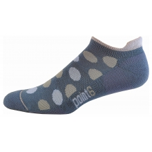 Active Speckle Extra Light Micro Sock - Women's Black Large by Point6