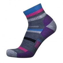 Point 6 Mixed Stripe Light Weight Mini Sock by Point6