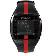FT7M Heart Rate Monitor - Black/Red by Polar