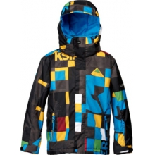 Quiksilver Mission 10K Youth Print Jacket by Quiksilver