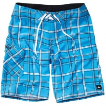"Paid In Full Boardshorts-22"" Mens - Blithe Plaid 28 by Quiksilver"