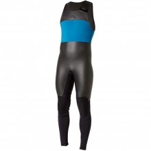 3mm Retro Long John Wetsuit Mens - Black/Blue S by Quiksilver