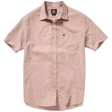 Allman Short Sleeve Shirt Mens - Baked Clay S by Quiksilver