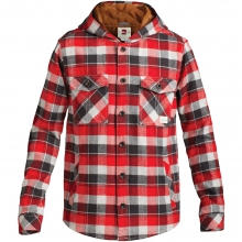 Wight Hooded Long Sleeve Shirt Mens - Formula One Plaid L by Quiksilver