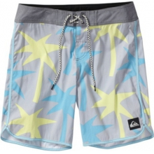 Quiksilver Mens OG Scallop 19 Print Boardshort by Quiksilver