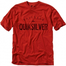 Outlast T-Shirt Mens - Red S by Quiksilver