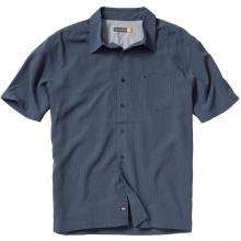 Short Sleeve Dunes Shirt Mens - Midnight Navy Solid L by Quiksilver