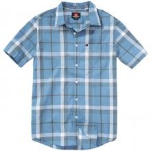 Jumbo Gumbo Short Sleeve Shirt Mens - Blue Heaven Plaid S by Quiksilver