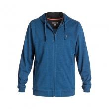 Men's Superbank Zip-Up Fleece Hoodie by Quiksilver