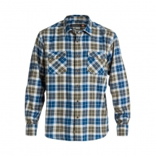 Men's Wade Creek Long Sleeve Flannel Shirt by Quiksilver