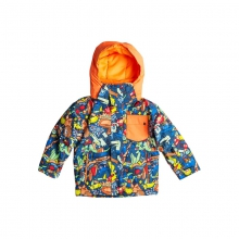 Little Mission Jacket - Closeout Poinciana Plaid - Pattern by Quiksilver