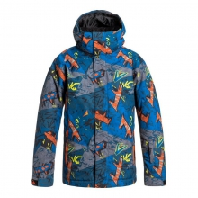 Boys' Mission Print Jacket by Quiksilver