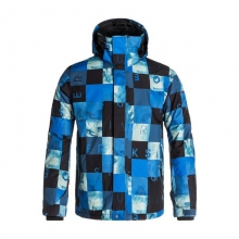 Men's Mission Printed 10K Snow Jacket by Quiksilver