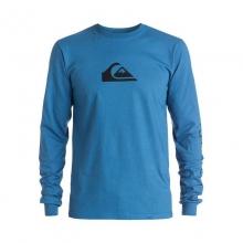 Men's Logo Long Sleeve Tee Shirt by Quiksilver