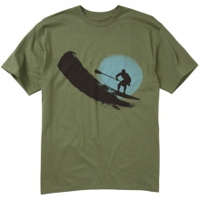 Paddler T-Shirt Mens - Marine Green L by Quiksilver