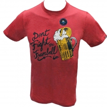 Foamball Slim Fit T-Shirt Mens - Pompeiin Red XL by Quiksilver
