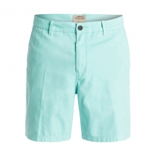 Mens Shortie Chino 18 in Short - Closeout Agate Green 32 by Quiksilver