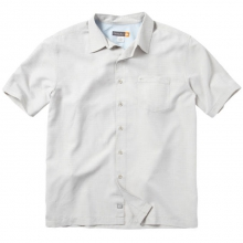 Centinela 2 Short Sleeve Shirt Mens - Sandstone S by Quiksilver