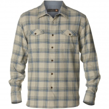 Northern Pike Long Sleeve Flannel Shirt Mens - Green Mist M by Quiksilver
