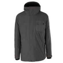 Mission 3 in 1 Snowboard Insulated Jacket Men's, Iron Gate, L by Quiksilver