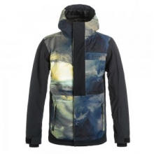 Ambition Insulated Snowboard Jacket Boys', Fisher Journal, L by Quiksilver