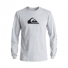 Mountain & Wave Logo Long Sleeve Tee by Quiksilver