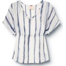 Quiksilver Womens Indgo Splash Shirt by Quiksilver