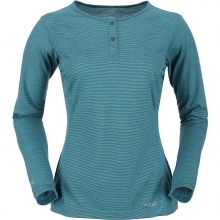 Women's MeCo 140 Long Sleeve Zip Tee by Rab