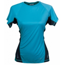 - Aeon Tee W - X-Small - Turquoise Merlin by Rab
