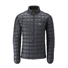 mens continuum pull-on ebony/ chartreuse large by Rab