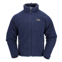 mens double pile jacket twilight by Rab
