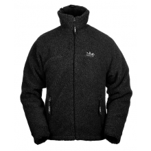 mens double pile jacket black by Rab