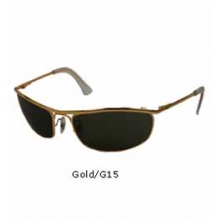 3119 Olympian Sunglasses - Gold by Ray Ban