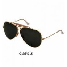 Shooter 3138 Aviator Sunglasses - Gold