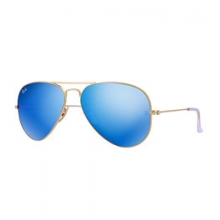 Aviator with Mirrored Lenses - Unisex