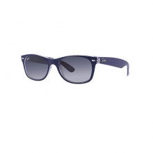 New Wayfarer -Blue/Transparent Sunglasses