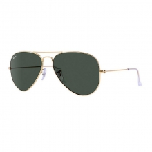 Aviator Large - Gold Sunglasses