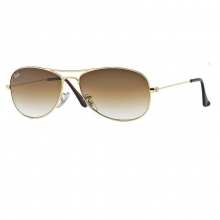 Cockpit - Gold Sunglasses by Ray Ban