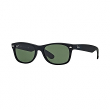 New Wayfarer - Matte Black Sunglasses by Ray Ban
