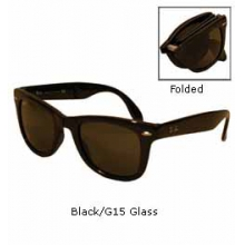 Folding 4105 Wayfarer Sunglasses by Ray Ban