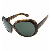 Jackie Ohh II Womens Sunglasses - Tortoise/Grey Green by Ray Ban