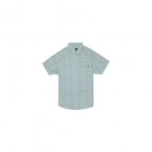 Mens Flower Vision S/S Shirt - New Dark Grey Medium by Rip Curl