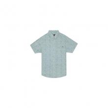 Mens Flower Vision S/S Shirt - New Dark Grey Medium