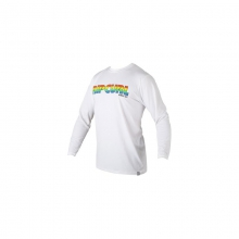Mens Big Mama L/S Surf Shirt - Sale White XL