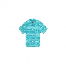 Mens Coco Cabana S/S Shirt - Sale Aqua Medium by Rip Curl