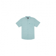 Mens El Tigre S/S Shirt - Sale Aqua Large by Rip Curl
