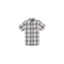 Mens Manta S/S Shirt - Sale Off White Medium by Rip Curl