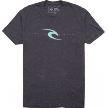 Rip Curl Mens Simply It Heather S/S Tee - Closeout by Rip Curl